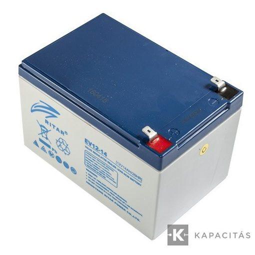 Ritar zselés akkumulátor 12V 14Ah RT12140EV DM12-15 ciklikus (RT12140EV)