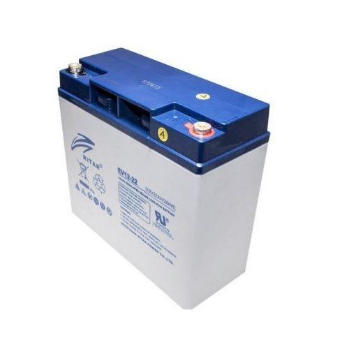 Elektromos robogó akkumulátor 12V 22Ah Ritar