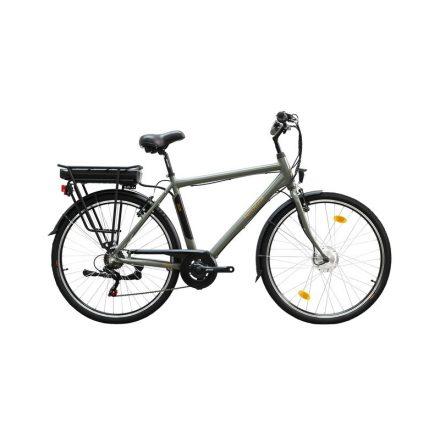 Zagon ffi 19 E-Trekking BAFANG nyomaték szenzoros matt zöldes szürke/ arany-fekete elektromos kerékpár