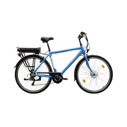 Zagon ffi 19 E-Trekking BAFANG nyomaték szenzoros matt kék/fehér elektromos kerékpár