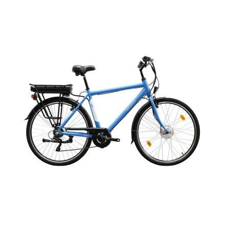 Zagon ffi 21 E-Trekking BAFANG nyomaték szenzoros matt kék/fehér elektromos kerékpár