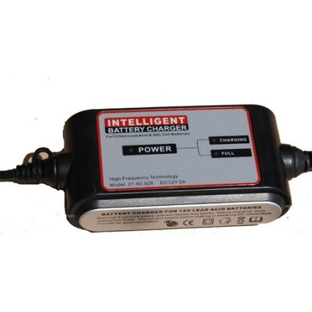 Carstel battery charger 12V 2A