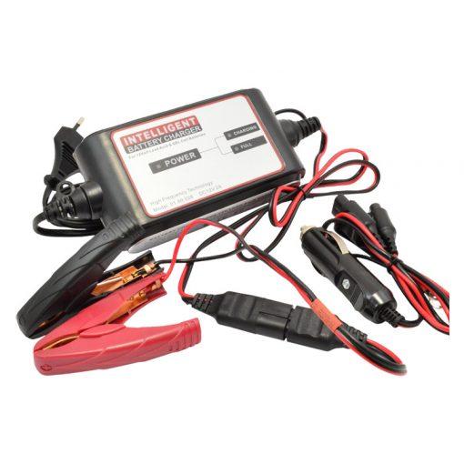 Carstel akkumulátortöltő 12V 2A