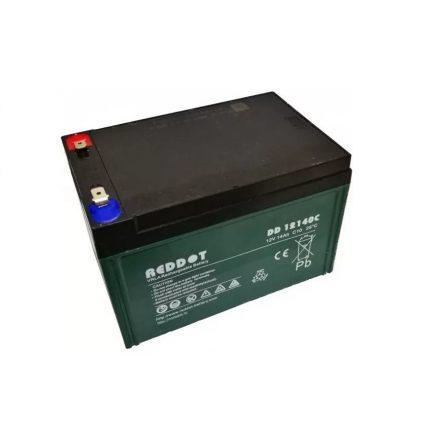 REDDOT 12V 14Ah elektromos kerékpár akkumulátor