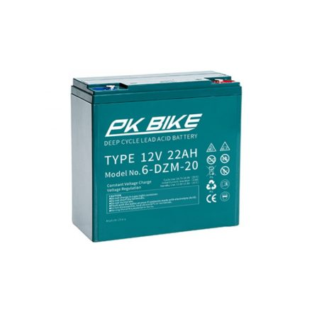 Electric bicycle battery 12V 22Ah Pk-BIKE