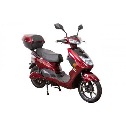ZTECH ZT-27 Warrior electric moped 48V 12Ah 800Watt 45km/h - Bordó
