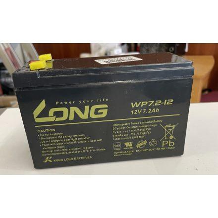 LONG 12V 7,2Ah akkumulátor