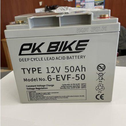 PK BIKE 12V 50Ah akkumulátor