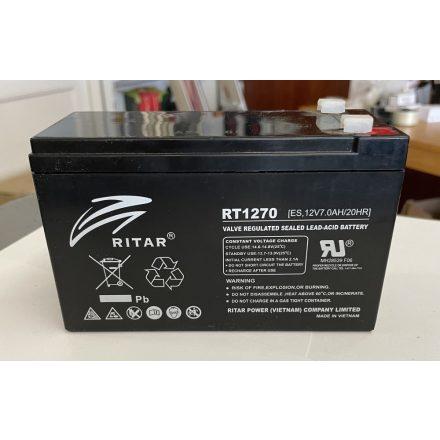 RITAR 12V 7Ah akkumulátor