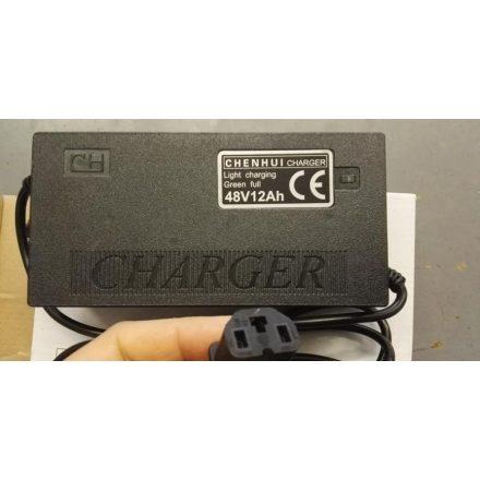 Tornádó elektromos kerékpár akkumulátor töltő 48V