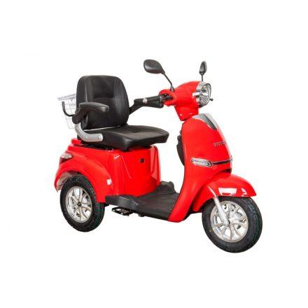 Hegyvidéki ZT-15-K elektromos tricikli bottartóval és mankókerekekkel