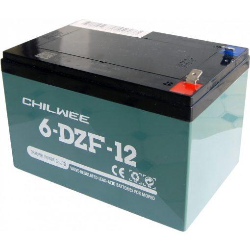 Akkumulátor 12V 12Ah ztech elektromos kerékpárokhoz